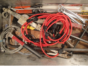 NT Bungees in Tool Box